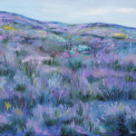 Lavanda, 60×50 cm, oil on canvas, 2013.