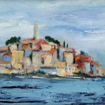 Rovinj, 30x25 cm, 2010 Oil on canvas