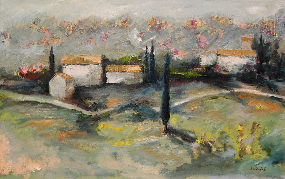 Istra, 80x50cm, oil on canvas, 2014.